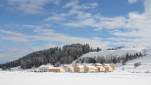Brigels Winterlandschaft