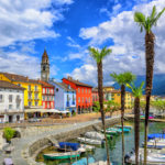 Ascona Altstadt mit dem kleinen Hafen