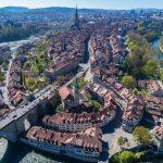 Sicht auf Stadt Bern