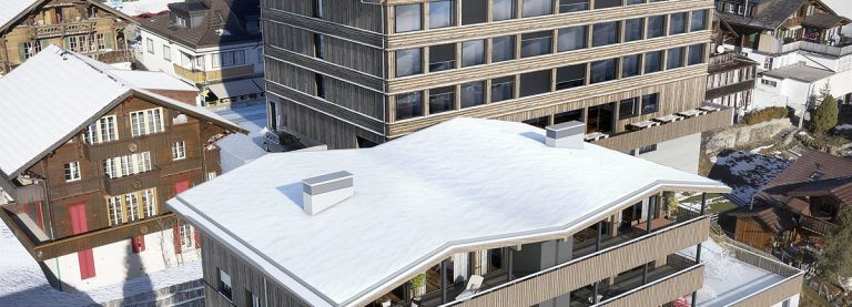 Hotel Revier und Alpenrose Mehrfamilienhaus in Adelboden