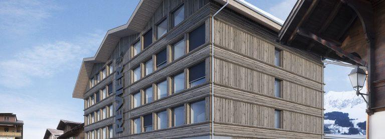 Hotelprojekt Revier und Alpenrose Mehrfamilienhaus in Adelboden