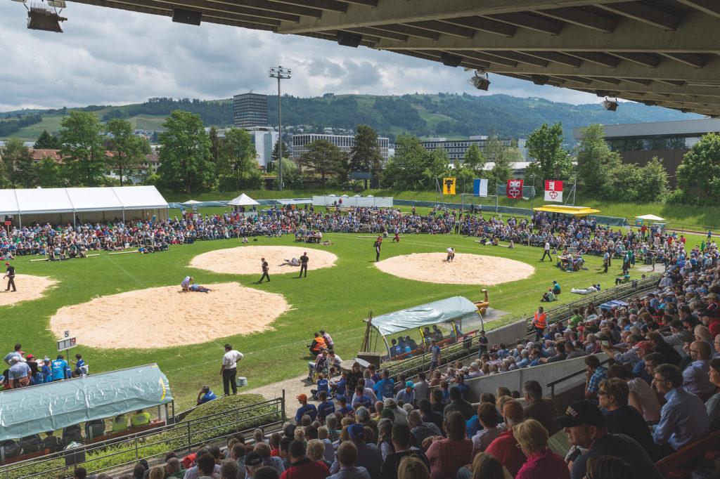 Kantonales Schwing- und Älplerfest