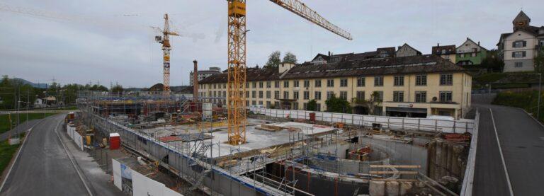 live dabei auf dem Seidenhofareal in Uznach 45 Eigentumswohnungen in Uznach