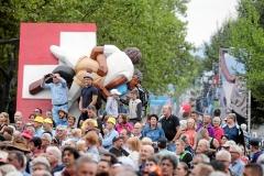 Zug 2019: Festumzug durch Zug vor ueber 62'000 Zuschauern