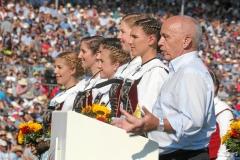 Zug 2019: Festakt - Bundespraesident Ueli Maurer