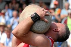 Zug 2019: Steinstossen - Qualifikation Unspunnenstein (83.5 kg)